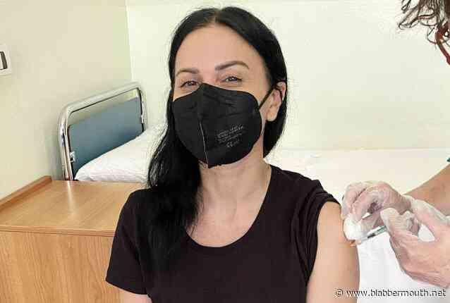 LACUNA COIL's CRISTINA SCABBIA On Getting COVID-19 Vaccine: 'I Trust In Science, Doctors And Nurses'