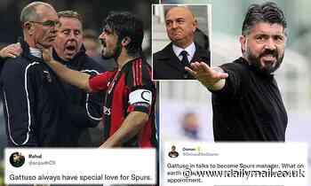 Tottenham fans rage at Gennaro Gattuso becoming new No 1 choice as manager