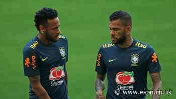 Alves heads Brazil Olympic squad; Neymar out