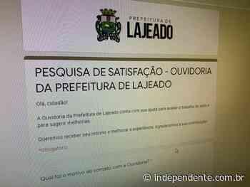 Prefeitura de Lajeado convida comunidade a participar de Pesquisa de Satisfação da Ouvidoria municipal - independente