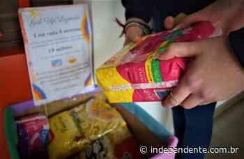 Adolescentes ajudam famílias carentes de Lajeado com doação de alimentos e absorventes - independente