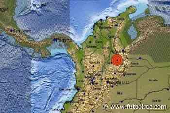 ¡Fuerte temblor en Colombia! El epicentro fue confirmado en Santander - FutbolRed