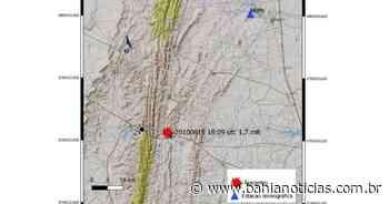 Novo tremor de terra é registrado em Jacobina nesta terça - Bahia Notícias