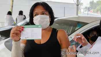 Jandira aplica mais de 1700 vacinas em um final de semana - Correio Paulista
