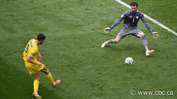 Ukraine picks up 1st Euro win, defeats North Macedonia in group stage