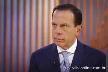 "Governador de SP critica Bolsonaro: ""É o Messias da morte"" • Paraíba Online - Paraíba Online"