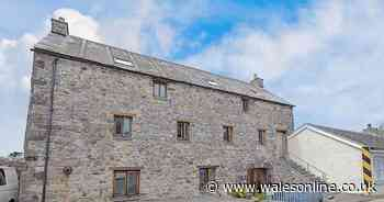Two luxury apartments are up for sale in a converted granary in St Davids