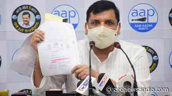 AAP leader Sanjay Singh alleges corruption in purchase of Ram temple land