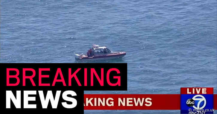 Aircraft crashes a mile off coast in New Jersey