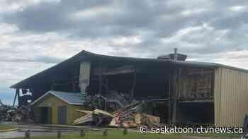 Meadow Lake, Sask. community arena destroyed in blaze   CTV News - CTV Toronto