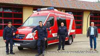Feuerwehr in Schömberg: 88 mal Alarm, 16 Brände – und knapp 2000 Stunden im Einsatz