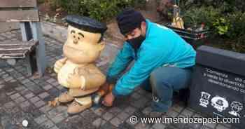 La Ciudad retira los personajes de Mafalda para mantenimiento - mendozapost.com