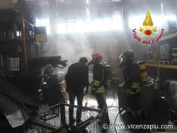 Trissino, incendio in impianto aspirazione fumi in azienda metalmeccanica - Vicenza Più