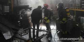 Trissino: a fuoco impianto di aspirazione - Vicenzareport