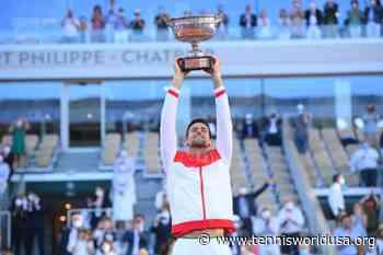 Novak Djokovic writes history as the first player with.. - Tennis World USA