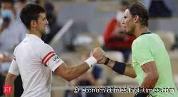 Rafael Nadal vs Novak Djokovic: A match that deserved a live audience - Economic Times