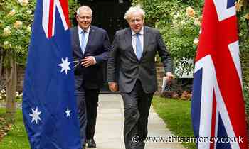 ALEX BRUMMER: The Australia free trade deal opens up a new frontier - This is Money
