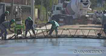 Construcción en Tandil: realizan mejoras en calles de la ciudad - Vía País