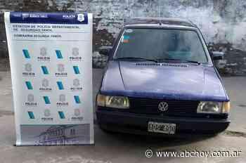 Allanan domicilio en Ayacucho y recuperan un auto que comprado en Tandil con un cheque falso - ABCHoy