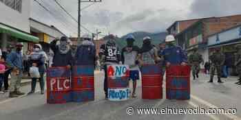 Nuevos enfrentamientos en Cajamarca - El Nuevo Dia (Colombia)