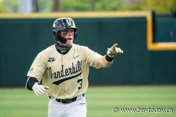 Canadian outfielder Cooper Davis headed to the College World Series