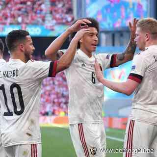 LIVE - Kevin De Bruyne schiet Rode Duivels op voorsprong: 2-1