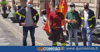 Vigili del fuoco: carenze d'organico, sit in a Catanzaro - Quotidiano online