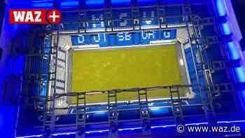 MSV Duisburg: Fan baut eigene Arena aus 8000 Lego-Steinen - WAZ News