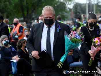 Adam: Doug Ford turns his back on Muslims in the Ontario legislature - Ottawa Citizen