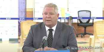 Ontario's Reopening Could Happen Faster, Ford Hints - Narcity Canada