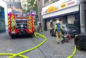 Vrouw gewond na keukenbrandje in hartje Tongeren