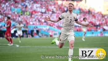 Tor und Vorlage! Belgiens Joker De Bruyne düpiert Dänemark