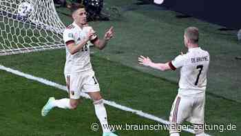 Kein Sieg für Eriksen: Dänemark unterliegt Belgien
