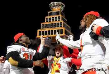 U Sports awards hosting rights for '21 Vanier Cup championship to University of Laval