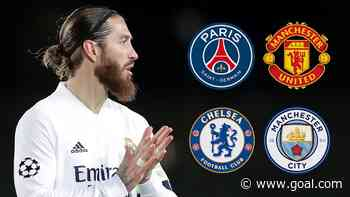 PSG, Man City or MLS: Where next for Real Madrid legend Ramos?