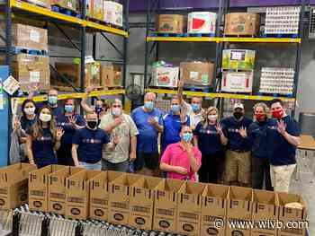 News 4 Buffalo is celebrating Nexstar's 25th anniversary by volunteering with FeedMore WNY