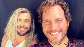 Chris Hemsworth Trolls Chris Evans Amid Many 40th Birthday Messages - The Dad
