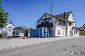 """""""Rössle"""" in Herbrechtingen: Das Gebäude in der Giengener Straße wird abgerissen - Heidenheimer Zeitung"""