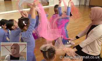 Dance teacher reveals what Britain's first ballet school for Muslim children is like during a class - Daily Mail