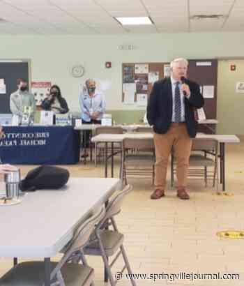 Kearns attends Concord Senior Center with Clerk on the Go Program - Springvillejournal