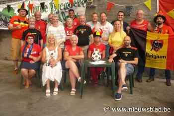 Oudestraat geniet in Rode Duivels outfit van EK op groot scherm