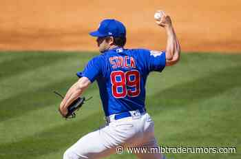 Cubs Select Robert Stock, Place Dillon Maples On IL - MLB Trade Rumors