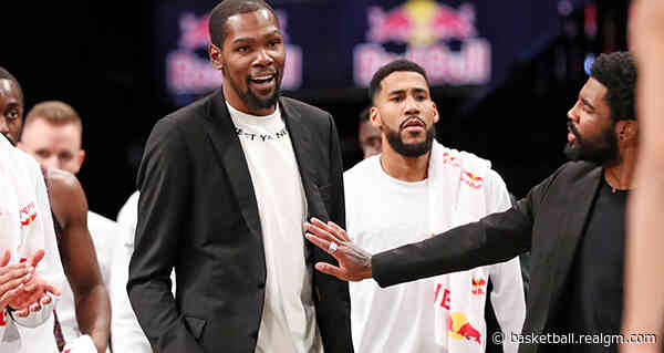 New Book Details How Kevin Durant, Kyrie Irving Decided To Team Up On Eve Of Warriors-Celtics Game