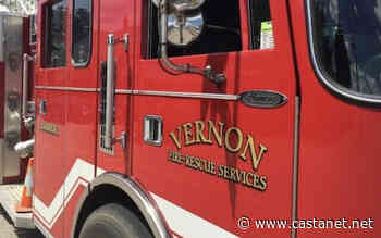 Vernon fire department called to car fire near Kal Lake lookout Wednesday night - Vernon News - Castanet.net