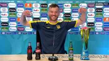 Ukraine: Jarmolenko mit Spaß-Aktion anders als Ronaldo