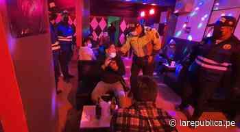 Moquegua: intervienen a 18 personas en local nocturno en Ilo - LaRepública.pe