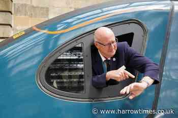 London-Glasgow train journey record bid fails by just 21 seconds - Harrow Times