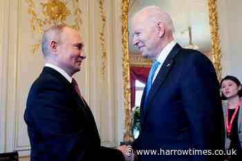 Biden and Putin set 'consultations' on updating nuclear pact - Harrow Times