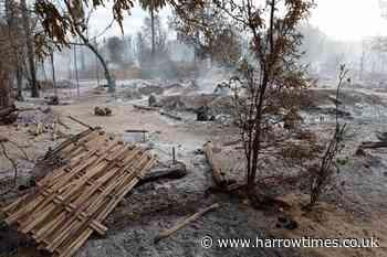 Junta troops burn Myanmar village in escalation of violence - Harrow Times