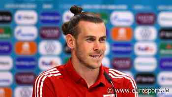 EM: Gareth Bale freut sich auf das Spiel gegen die Türkei und ihrer Fans in Baku - Eurosport DE